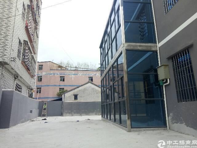 龙胜高峰学校附近独栋小别墅全新落地窗500㎡出租,院子空地大