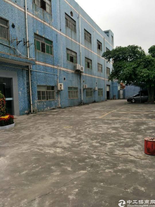 龙岗龙西工业区新出独院标准厂房一楼700平实际面积招租