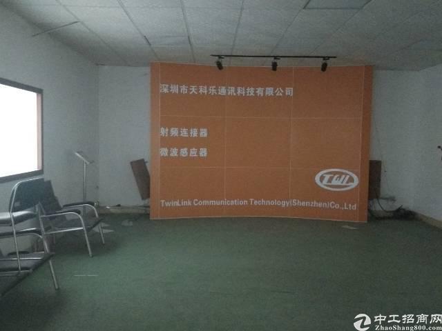 深圳福永宝安大道边上厂房出租1000平带装修免转让费保环评安