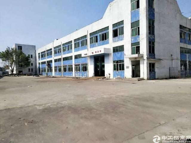 深圳沙井后亭地铁站附近新出8980平方独院厂房出租