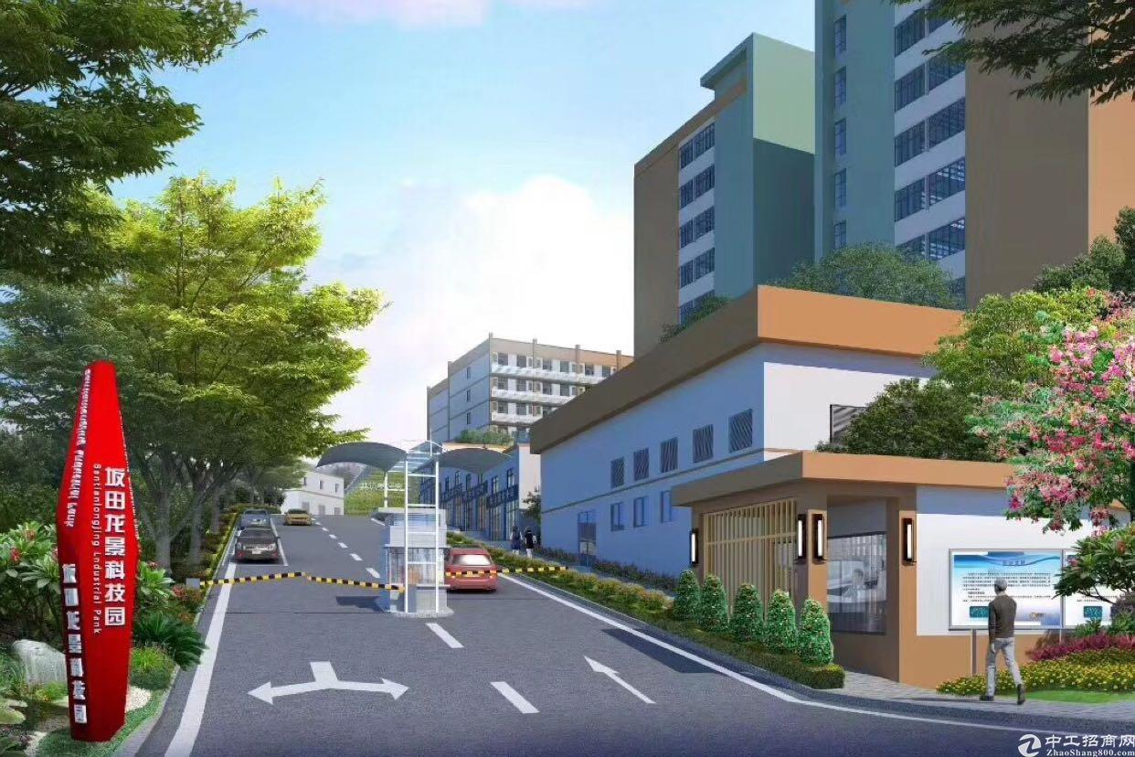 坂田杨美地铁站新出楼上精装修2400平方租金低至30元可分租