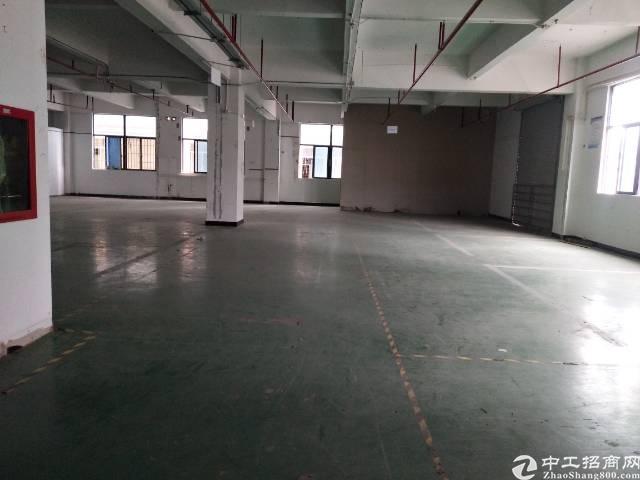 松岗燕川三楼1200带装修厂房出租