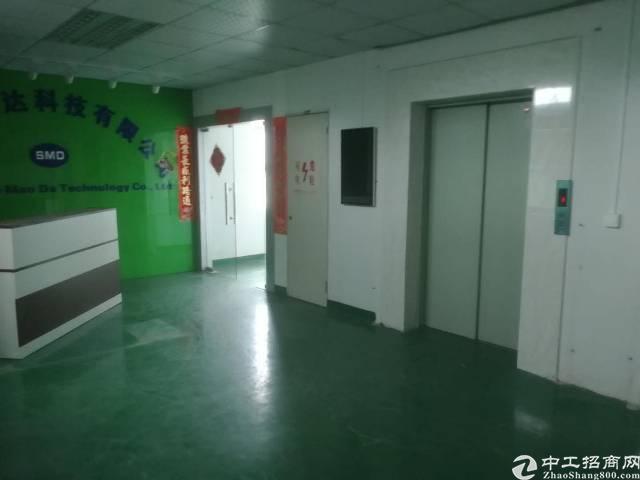 深圳市龙华大浪850平一整层原房东厂房出租