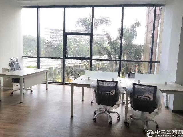 杨美地铁站附近精装修150平方办公室