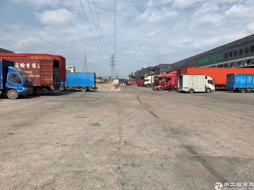 横岗六约物流园12000平米带卸货平台消防喷淋仓库招租