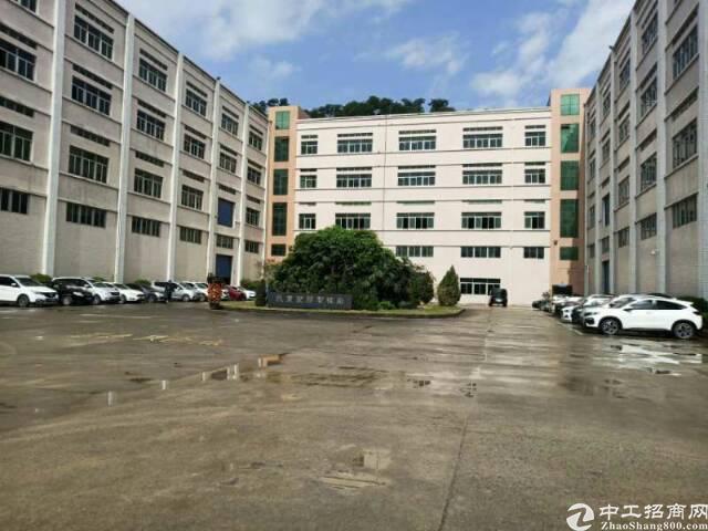 平湖华南城机荷高速出口一楼2000平米,厂房仓库急租可分租!