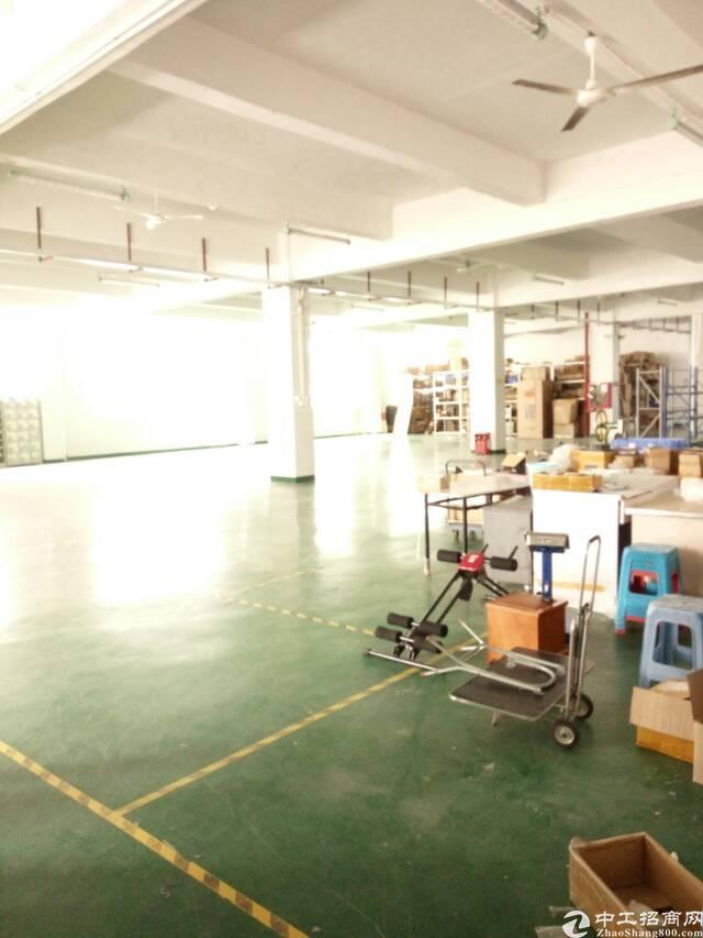 观澜大富工业区新出原房东标准厂房楼上一整层1750平米标准厂