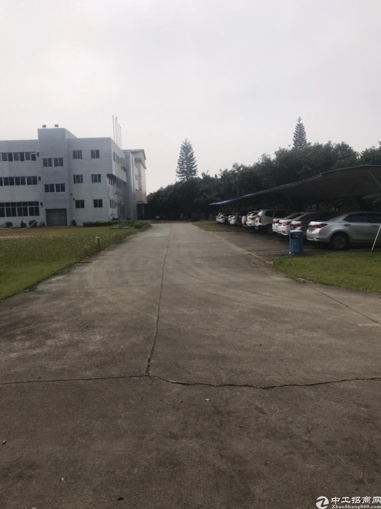 广州南沙花园式厂房7万平方实惠厂房,证件齐全,可办环评,可排