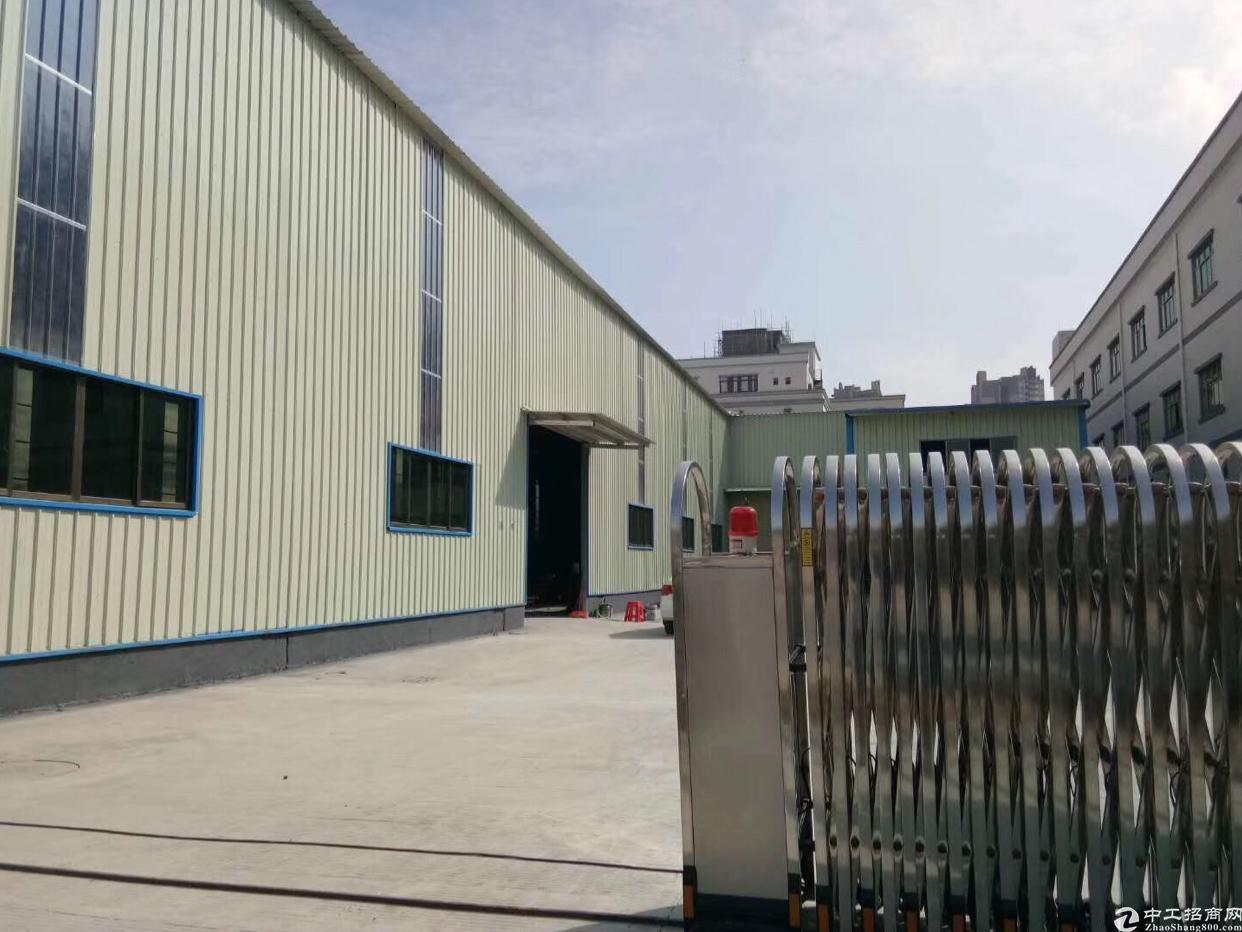 惠东珠三角产业转移园新出花园式钢结构厂房火爆招租