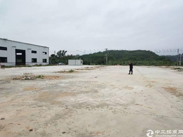 博罗集体证件独院钢钩厂房10000平米出售
