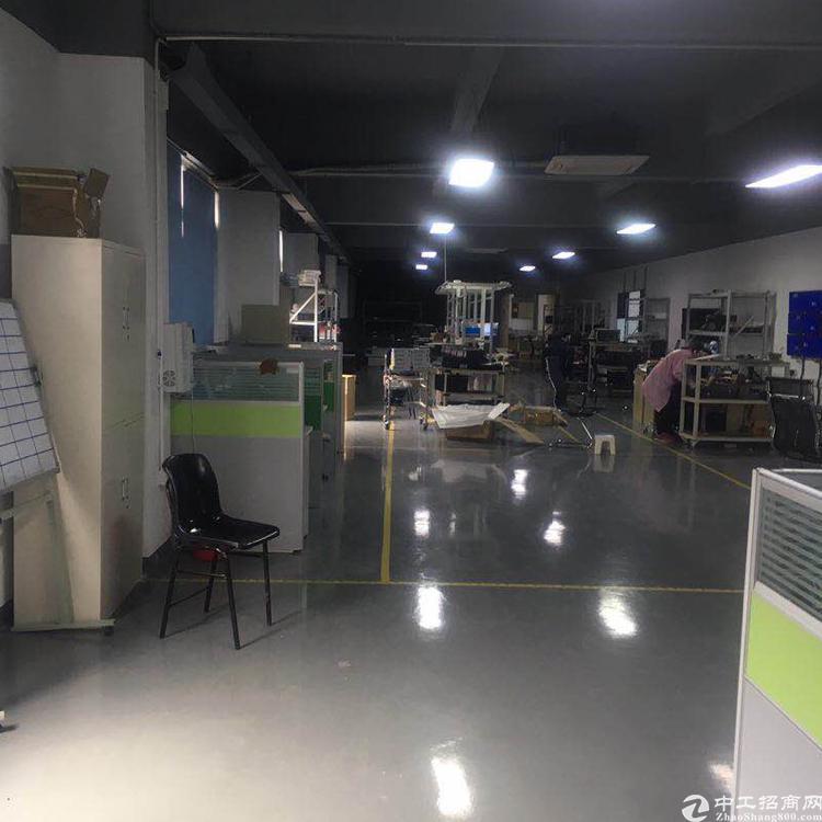 龙华清湖轻轨站边精装修厂房楼上1200平