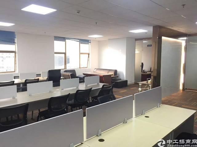 出租龙华龙华地铁口写字楼150平豪华装修