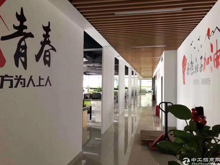 观澜福民龙观快线旁标准红本2楼带装修1200平米厂房出租