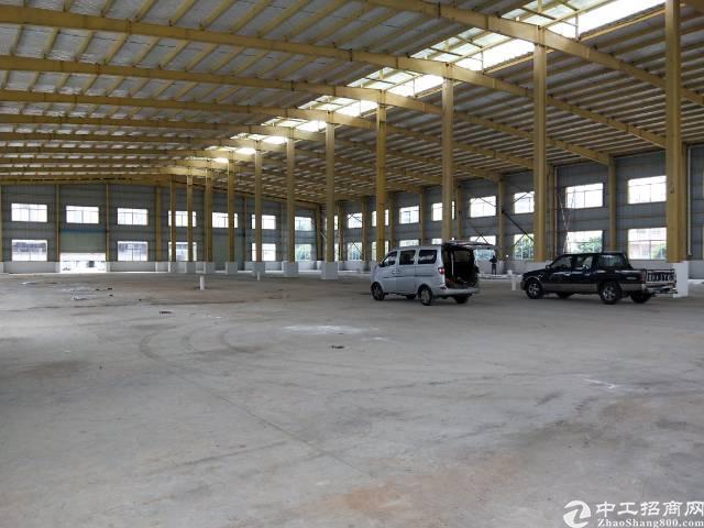 全新滴水9米高钢构厂房5000平无公摊面积