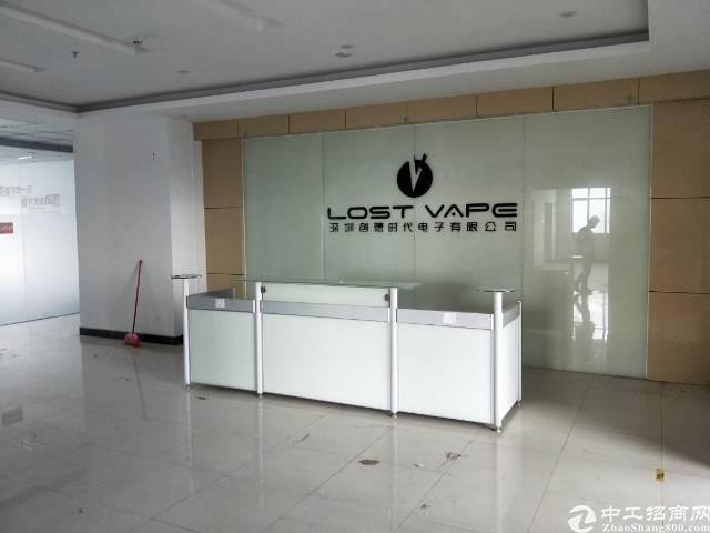 沙井西环路边高新园区5楼1200平方厂房急租