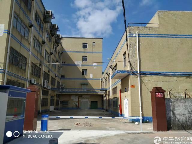 龙岗区坪地坪西独院厂房4500平两层可分租位置好