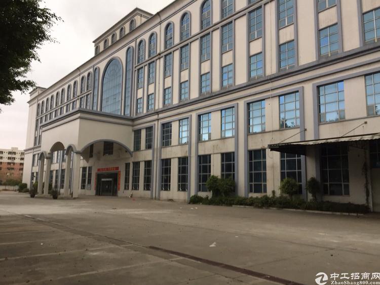 松岗高速出口原房东红本厂房可分栋出租总面积10平方