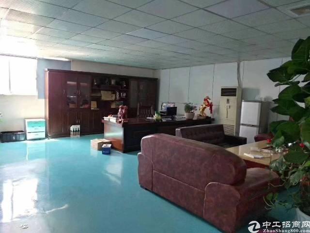 西乡九围新出楼上1500平,带豪华装修办公仓库出租