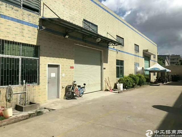 惠州市惠阳镇隆独门独院砖墙到顶厂房招租