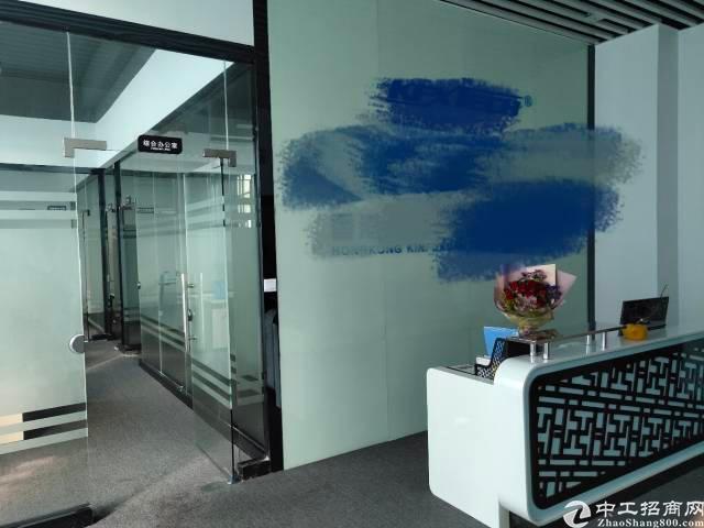 观澜章阁梅观高速入口新出楼上带全新装修800平米厂房出租