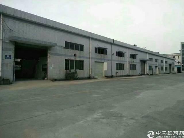 租金29元1500平米原房东丹一层钢构厂房招租。