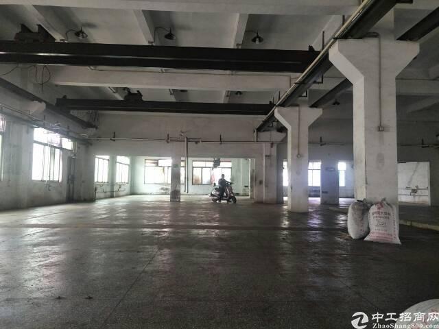 公明下村一楼4560平米标准厂房出租