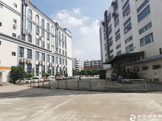 松岗原房东红本含税厂房7万平方出租