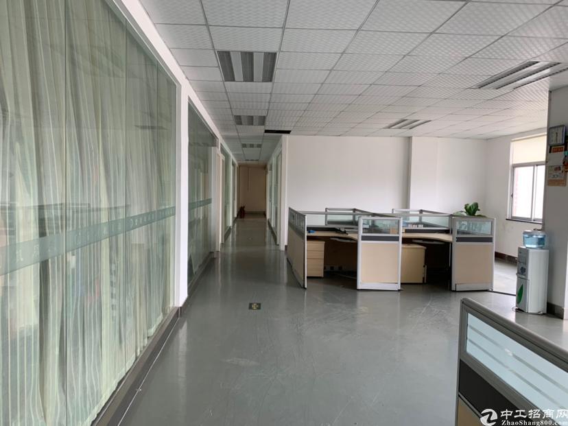 横岗永湖地铁站附近楼上精装办公室500平米招租