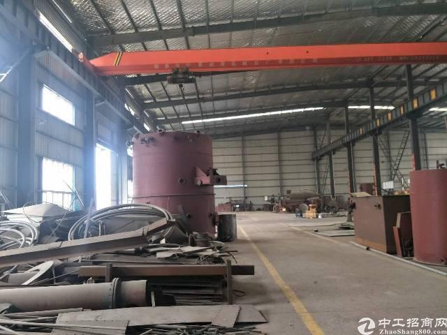 鄂州市区新出,独栋钢构行吊工业厂房招租