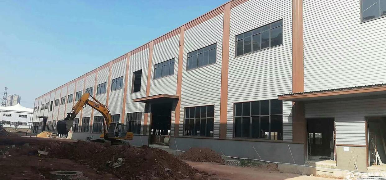 永汉新出花园式钢结构厂房招租