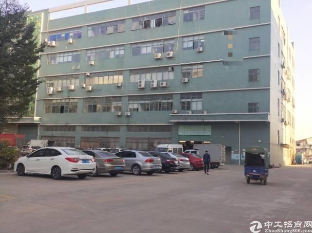 光明新区公明新出一楼带牛角1600平方厂房出租