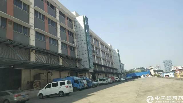 平湖华南城旁专业物流仓库800平米出租有标准缷货平台