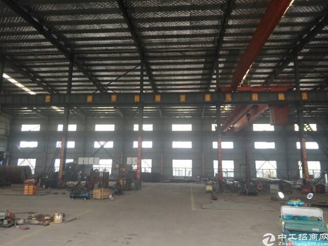 鄂州丁祖镇重工钢结构厂房3000平米,带行车行车。独门独院。