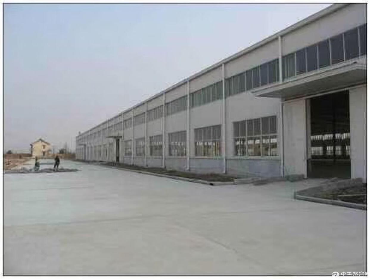 长宁新出花园式钢结构厂房招租