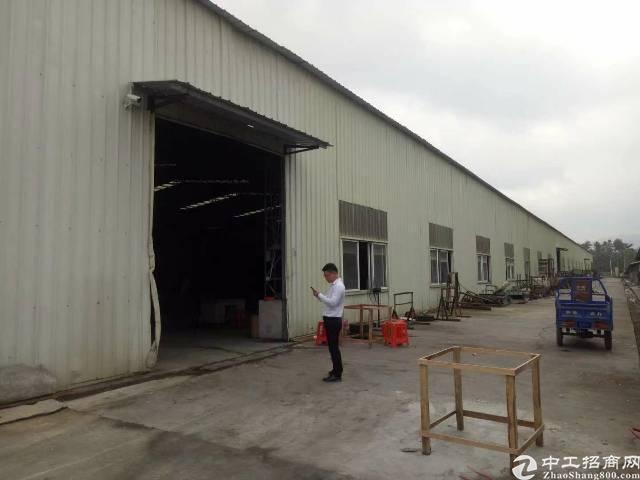 博罗周边原房东独门独院单一层钢结构厂房-图2