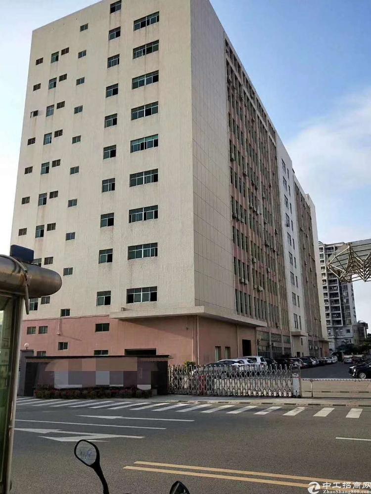 福永凤凰107国道边上原房东厂房实际面积1200平出租