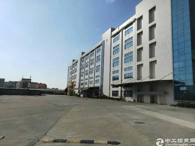 深圳松岗高速口红本15万平方大面积厂房出租