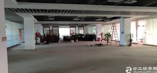 横岗六约地铁站口二楼精装办公室出租-图2