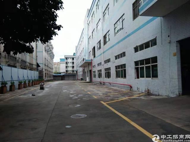 光明新区独院一楼2500厂房带牛角分租