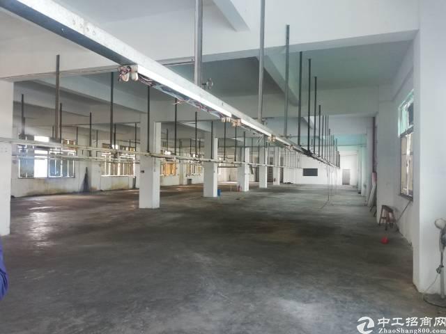 惠州惠阳新出一楼带牛角标准厂房出租有装修