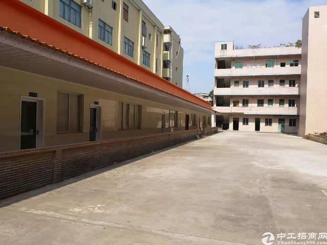 东莞市黄江镇独院厂房招租带红本200起分可办环评有办公室水电