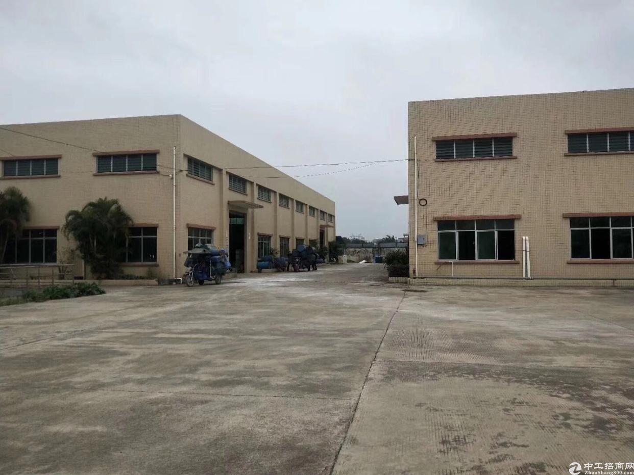芦洲新出花园式钢结构厂房招租