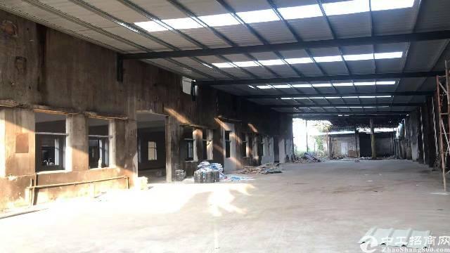 惠城区新出钢构厂房低价出租9000平方