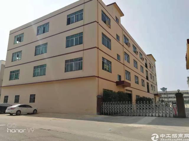 公明新出独院厂房7800m²,形象好,地理位置佳!一楼高5米