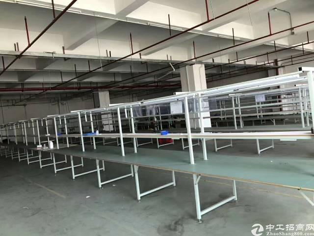 惠州市区附近楼上厂房700平,带装修,水电齐全