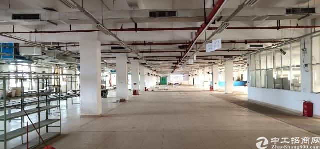 横岗六约地铁站口二楼精装办公室出租-图3