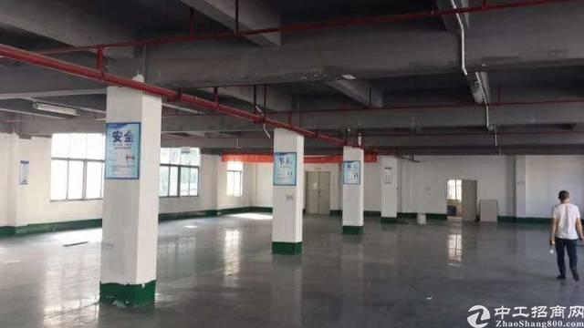 横岗新出楼上1200平厂房有地坪漆临近永湖地铁站报价22块