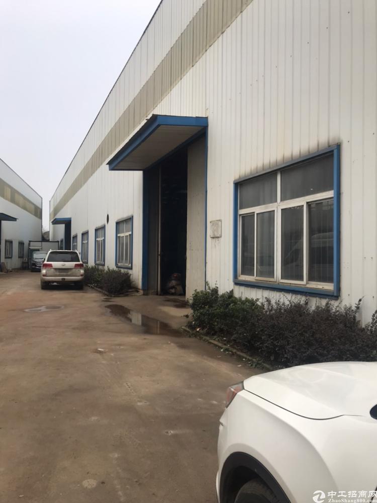 江夏区金龙大道与107交汇准全新钢构厂房14元