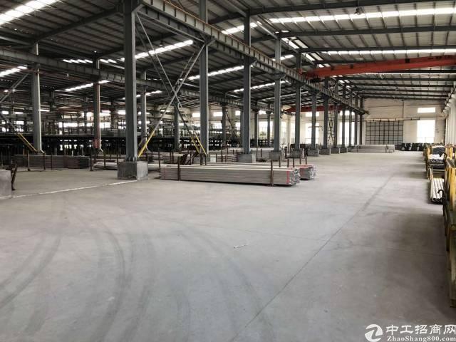 惠州市惠阳高新开发区现成行车钢构厂房招租