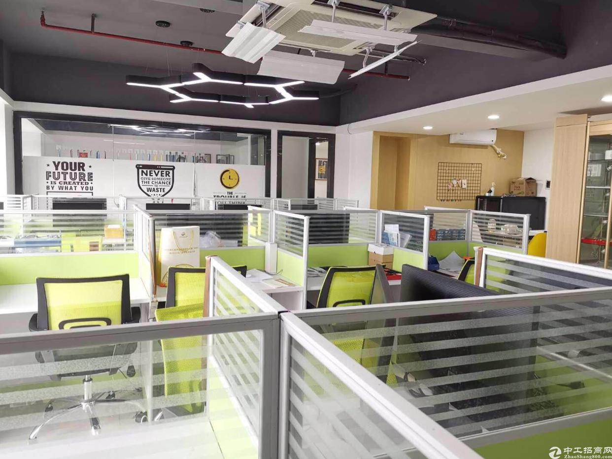 龙华清湖有轨电车附近新出精装修办公室215平